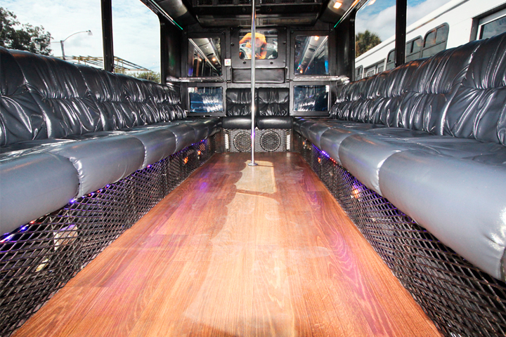 orlando party bus by l3limo - 18 guests