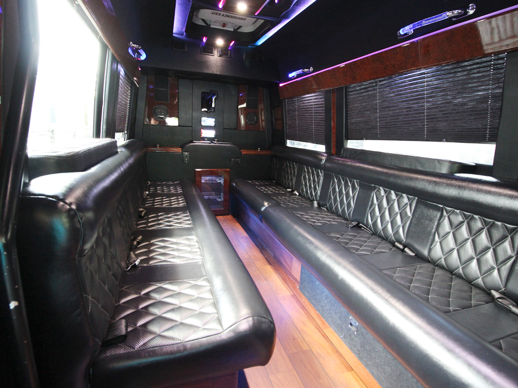 orlando party bus by l3limo - 13 guests