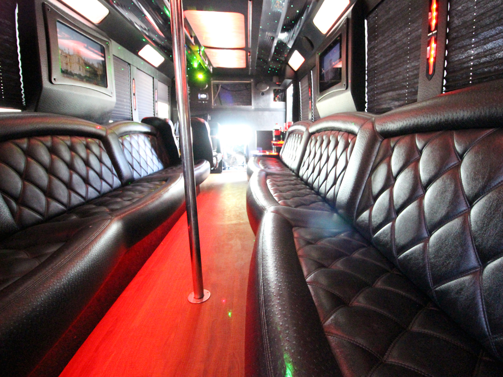 orlando party bus by l3limo - 30 guests